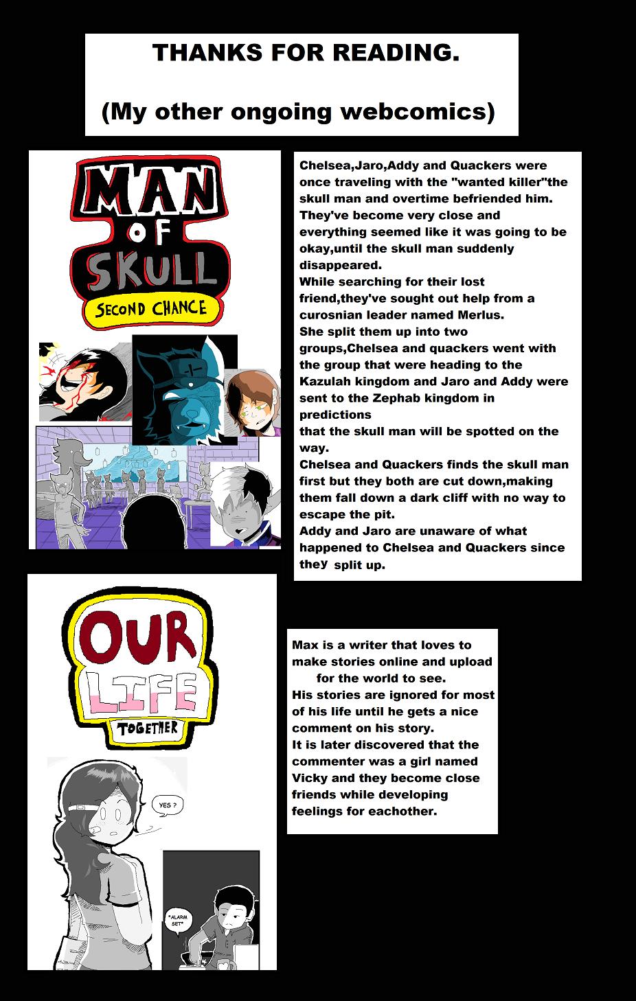My other webcomics